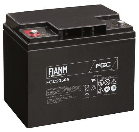 FIAMM FGC23505 12V 35Ah ciklikus (zselés) ólomakkumulátor