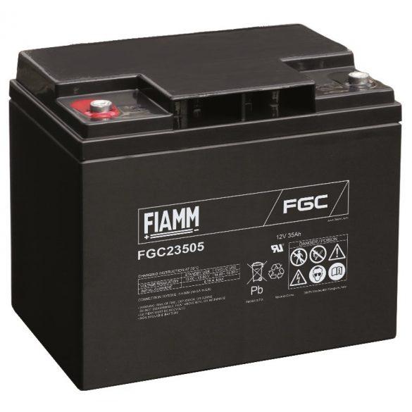 FIAMM FGC23505 12V 35Ah Ipari zárt (zselés) ólomakkumulátor