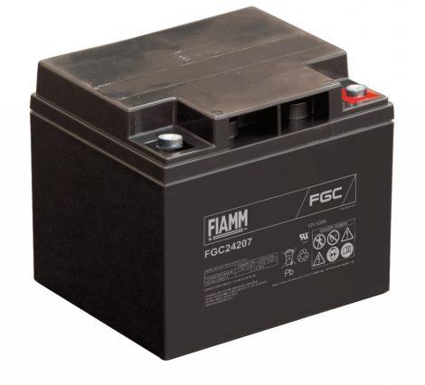 FIAMM FGC24207 12V 42Ah Ipari zárt (zselés) ólomakkumulátor