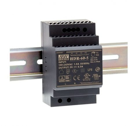 Mean Well HDR-60-24 24V 2,5A power supply