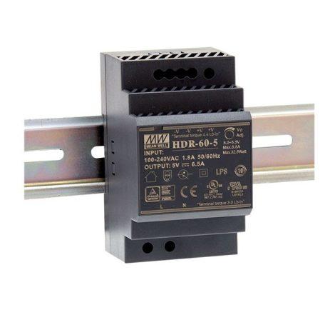 Mean Well HDR-60-24 24V 2,5A 60W tápegység