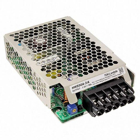 TDK-Lambda HWS50A-3/A 3,3V 10A 33W tápegység