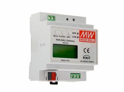 MEAN WELL KDA-64 KNX-DALI gateway (átjáró)