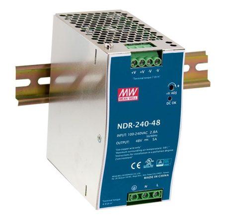 Mean Well NDR-480-24 24V 20A 480W tápegység