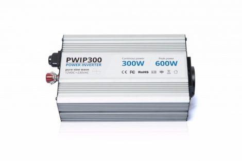 Power World PWIP300-122 12V 300W valódi szinuszhullám kimenetű inverter