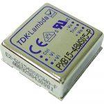 TDK-Lambda PXB15-12D05 2 kimenetű DC/DC konverter; 15W; 5VDC 1,5A; -5VDC -1,5A; 1,6kV szigetelt