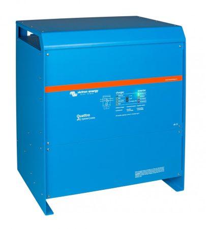 Victron Energy Quattro 48V 5000VA/4000W 70A-100A/100A inverter beépített akkumulátortöltővel