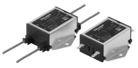 TDK-Lambda RSEL-20R5WL 1 fázisú 250VAC/250VDC 0,5A hálózati zavarszűrő