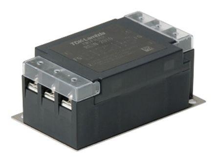 TDK-Lambda RSEN-2020L 1 fázisú 250VAC/250VDC 20A hálózati zavarszűrő
