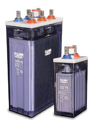 FIAMM SD 5  2V 80Ah Ipari nyitott ólomakkumulátor