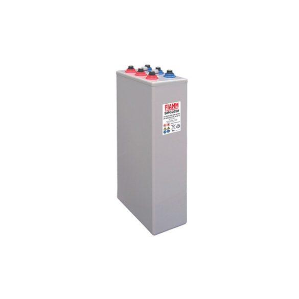 FIAMM SMG 720 6 OPzV 600 2V 720Ah  Páncéllemezes ciklikus zselés ólomakkumulátor