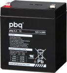 pbq 5.2-12 12V 5,2Ah szünetmentes/UPS akkumulátor