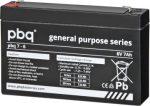 pbq 7-6 6V 7Ah szünetmentes/UPS akkumulátor