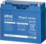 pbq LF 10-24 LiFePO4 24V 10Ah lítium-vas-foszfát akkumulátor