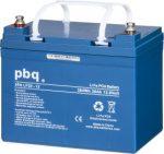 pbq LF 30-12 LiFePO4 12V 30Ah lítium-vas-foszfát akkumulátor
