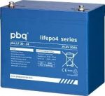 pbq LF 30-24 LiFePO4 24V 30Ah lítium-vas-foszfát akkumulátor