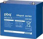 pbq LF 30-24 24V 30Ah LiFePO4 battery