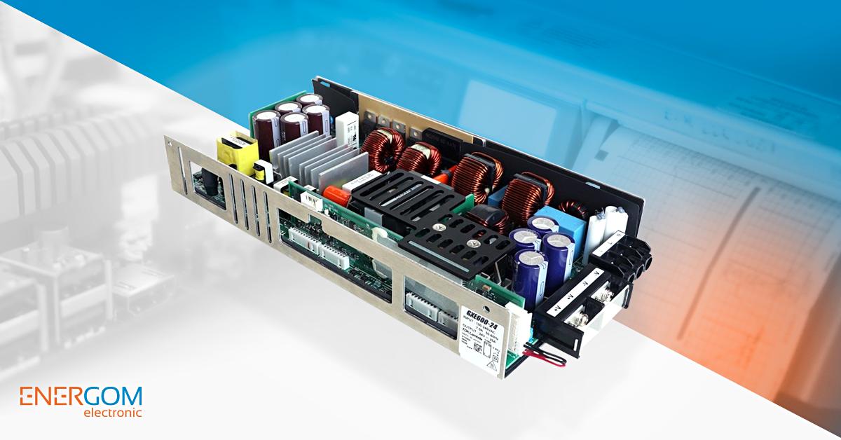 TDK-Lambda GXE600 600W pipari és orvosi programozható tápegységek