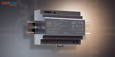 Mean Well HDR-150 DIN sínre szerelhető tápegységek