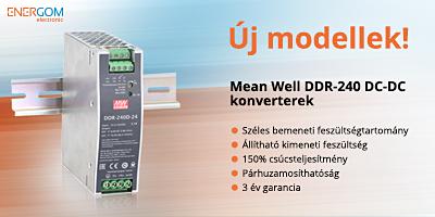 Mean Well DDR-240 DC-DC konverterek az Energom Electronic kínálatából!